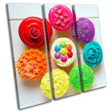 Cupcakes  colour Food Kitchen - 13-0480(00B)-TR11-LO